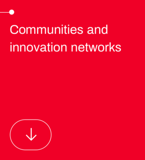 Communities and innovation networks