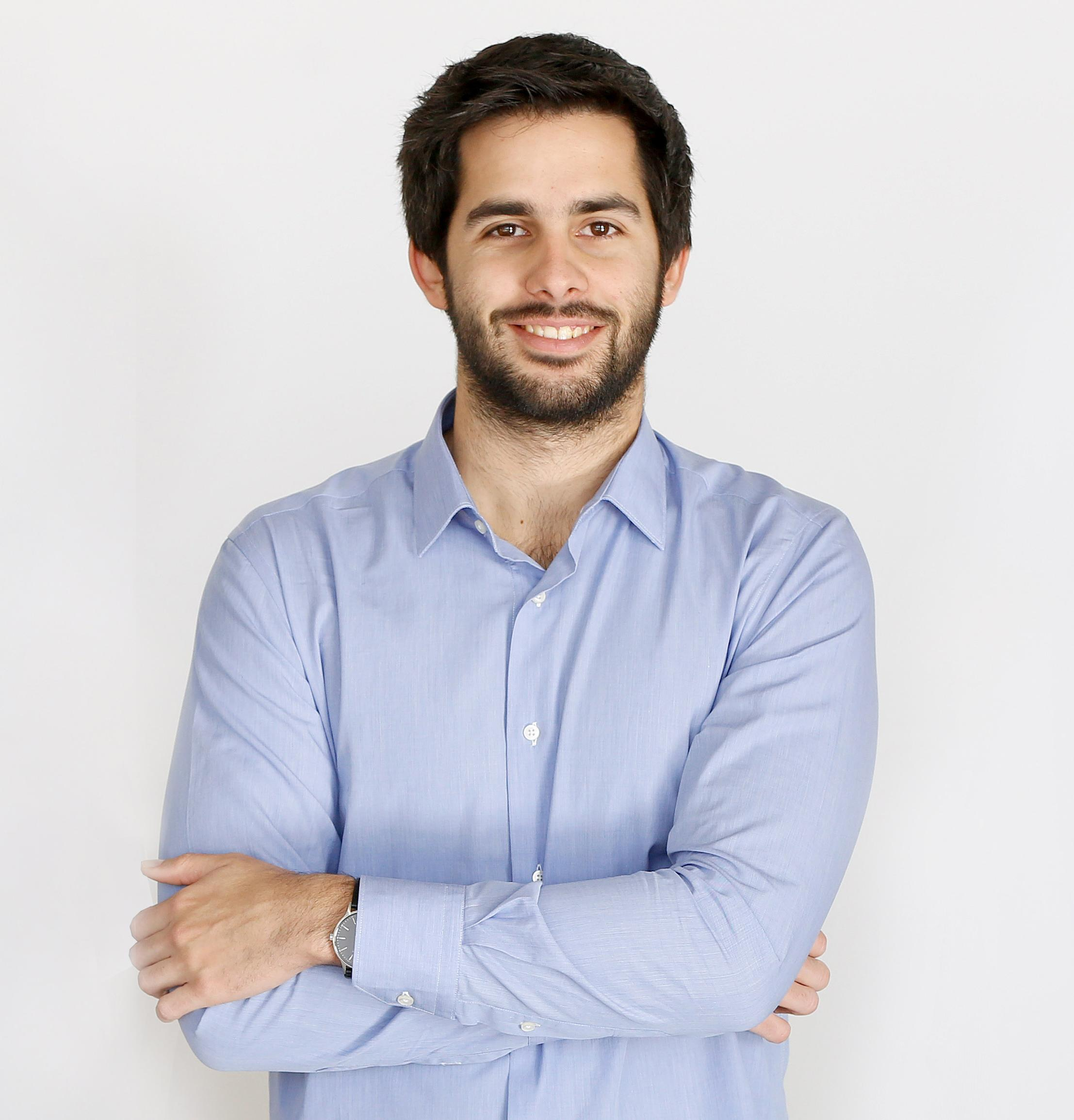 David Pistoni. CEO y co-fundador de Zeleros